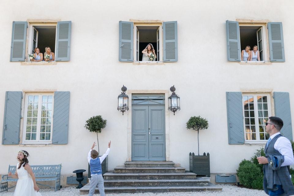 wedding day in beaujolais