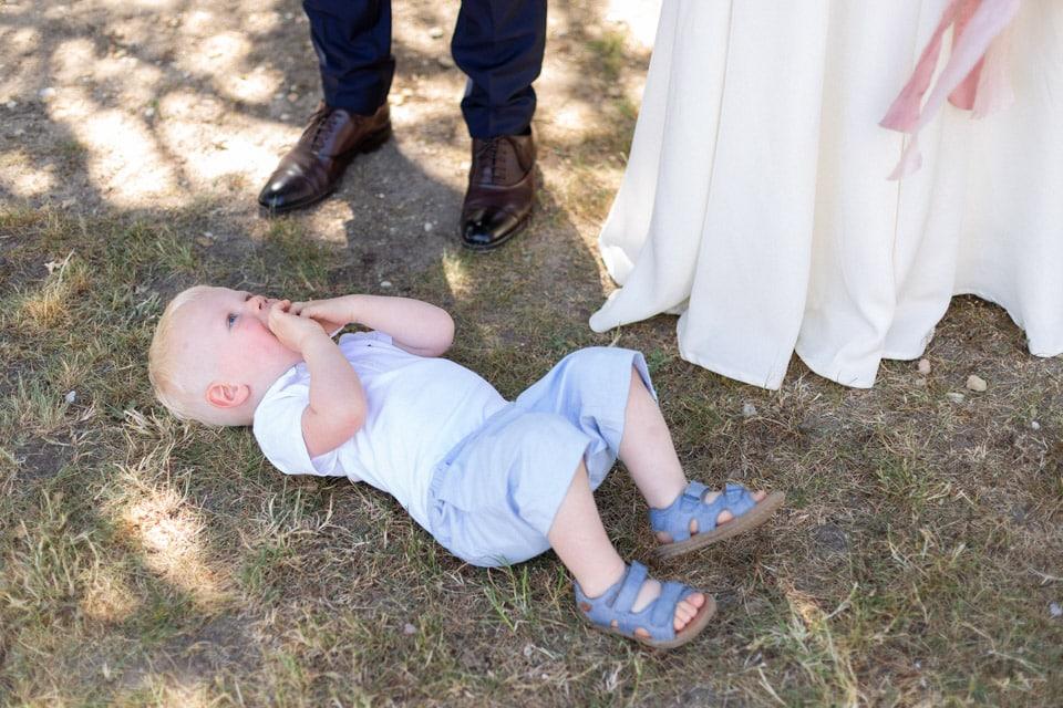 photos de famille après la cérémonie civile de mariage