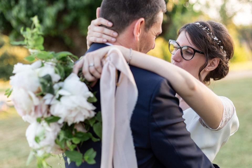 session couple pendant le mariage dans la drome
