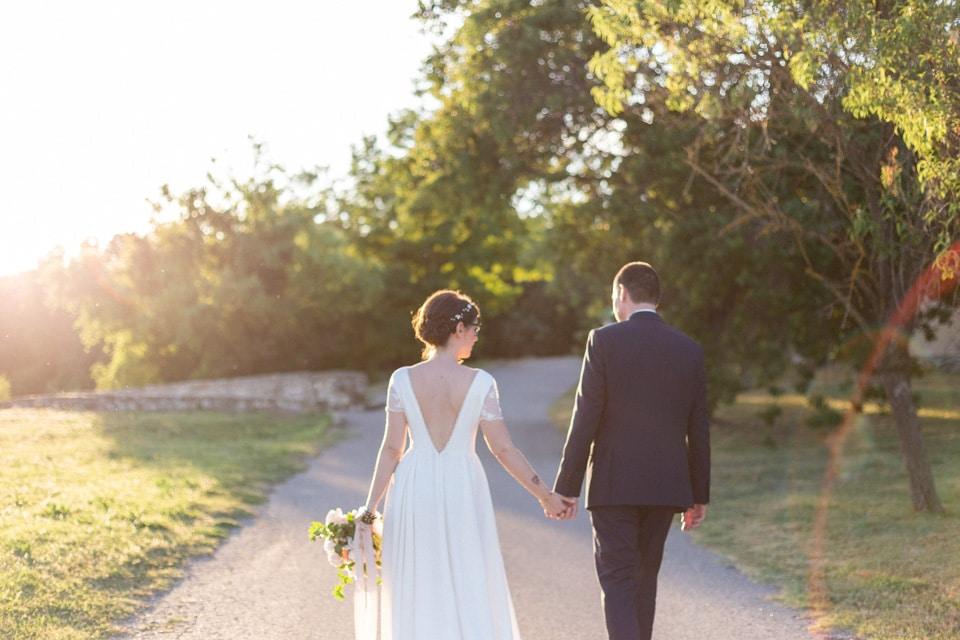 mariage près de grignan