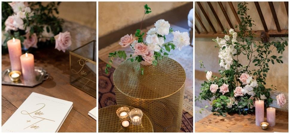 décoration florale du mariage par fleurs de fée
