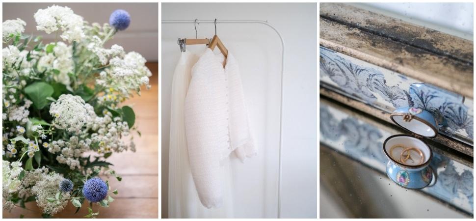 détails lors des préparatifs de la mariée au chateau de barbirey