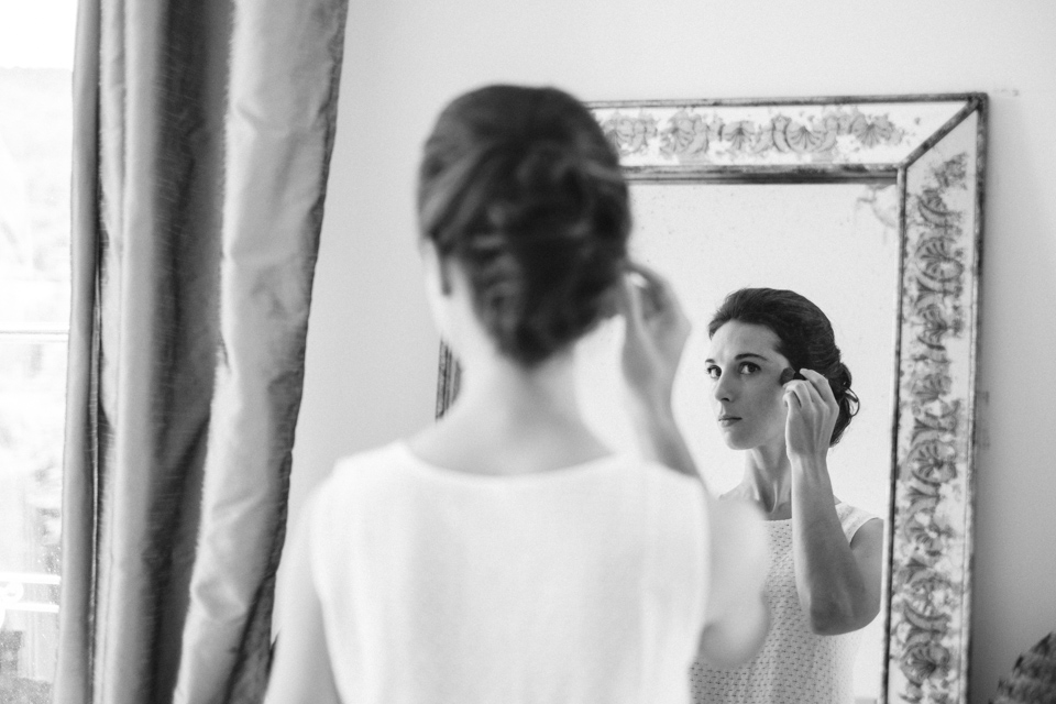 maquillage de la mariée aux jardins de barbirey