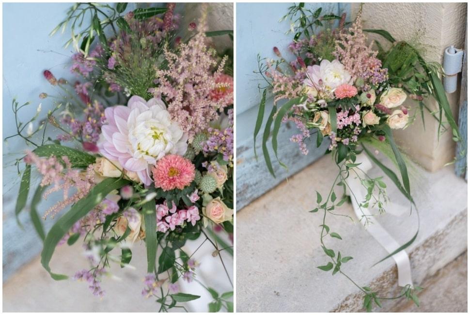 le bouquet champetre de la mariée