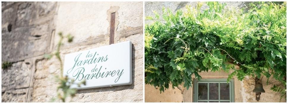 les jardins de barbirey lieu de réception en bourgogne