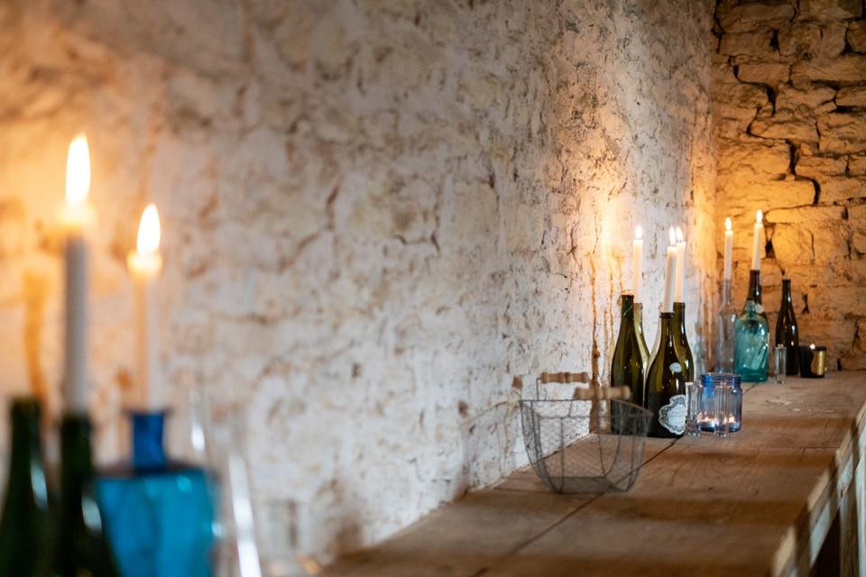 décoration de mariage au chateau de barbirey