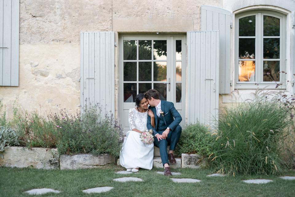 photo de mariage dans la drome à grignan