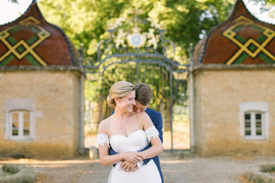 mariage au chateau de pierreclos