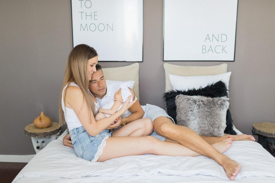 photo de famille naissance à lyon à domicile