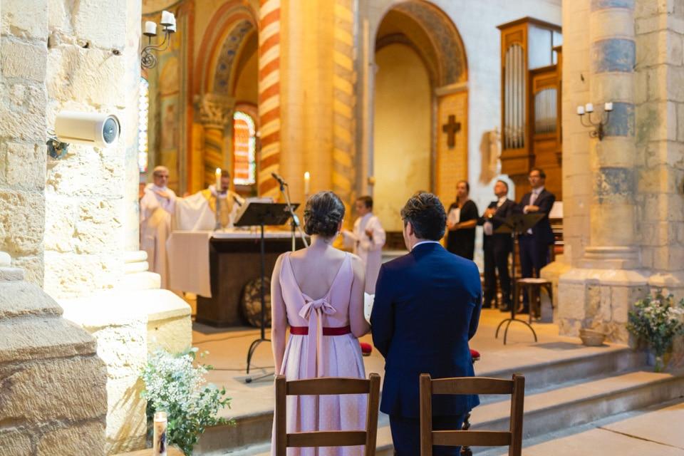 cérémonie renouvellement voeux de mariage prieuré d'anzy le duc