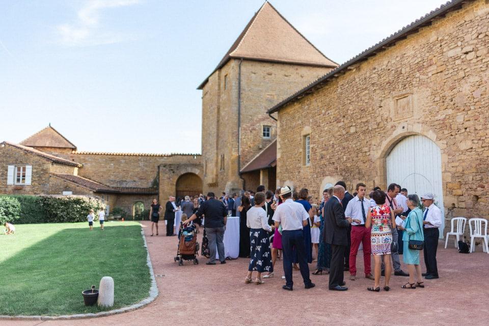 mariage au prieuré d'anzy le duc en bourgogne
