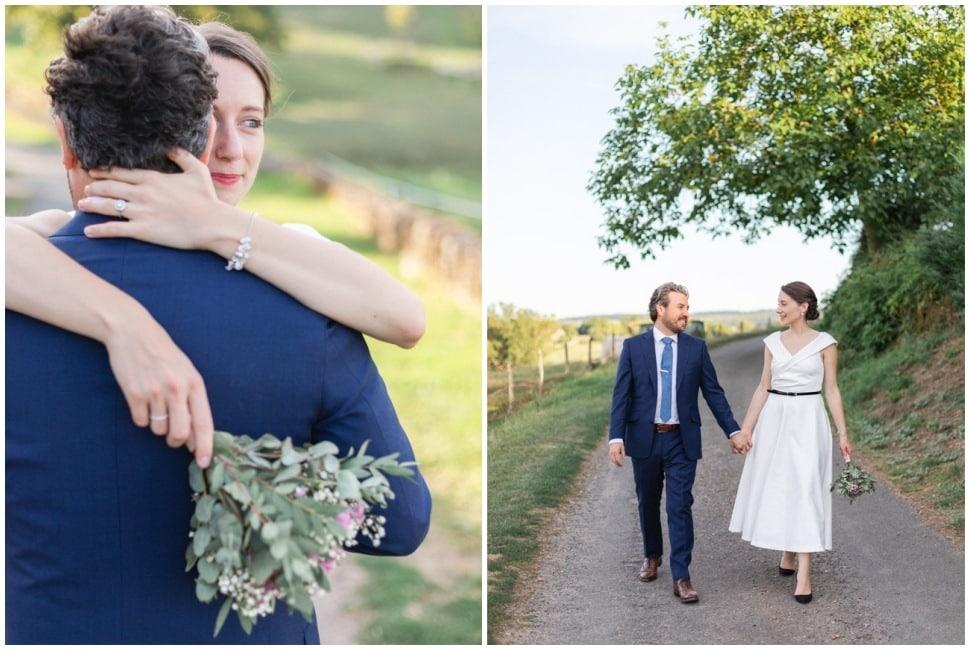 séance photo de couple mariage en bourgogne