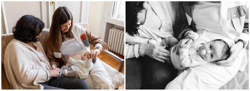 séance photo nouveau né à domicile à lyon